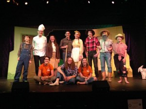 Summer Intern cast of Cucumber Phil