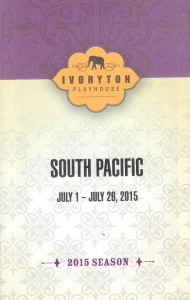 South Pacific Playbill Cover