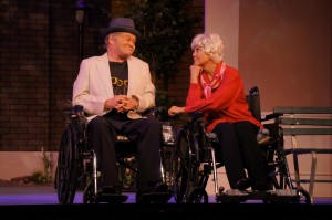 "Micky Dolenz and Joyce DeWitt star in ""Comedy is Hard!"""