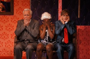Georges (James Van Treuren*), Jacob (Phil Young) and Albin (David Edwards*)