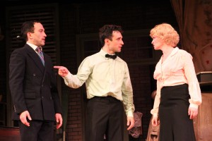 "Aaron Berk*, Rick Faugno* and Joyce Chittick* star in ""Fingers & Toes"""