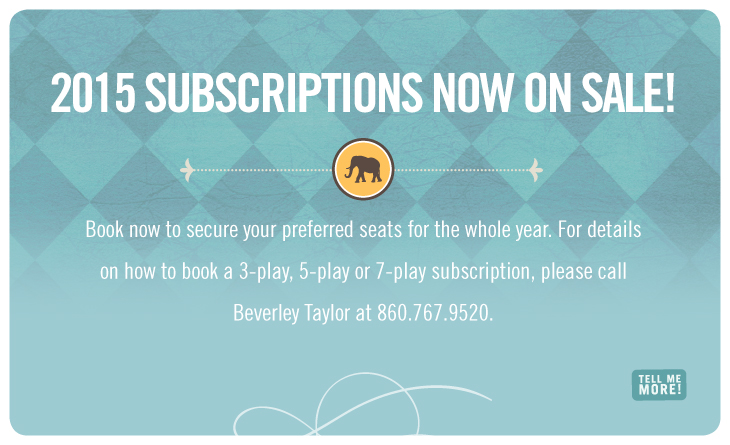 2015 Season Ticket Subscriptions