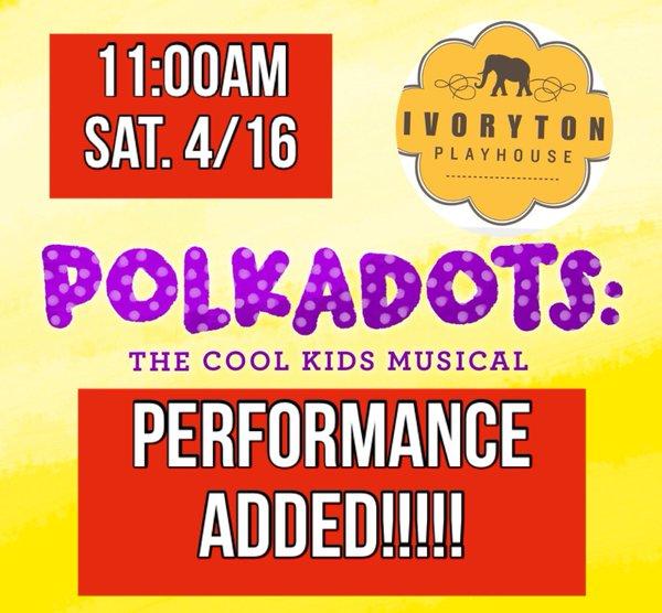 Saturday show added